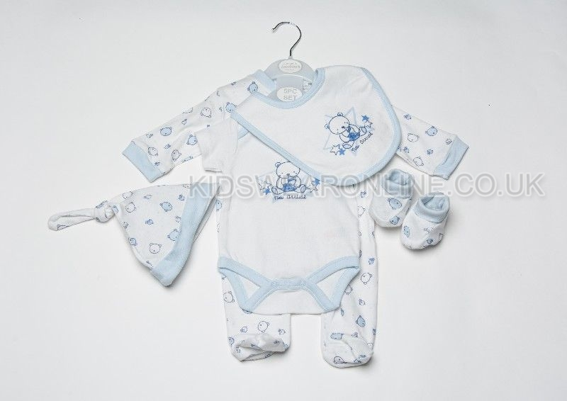 Baby 5pc Gift Set New Arrival Boy