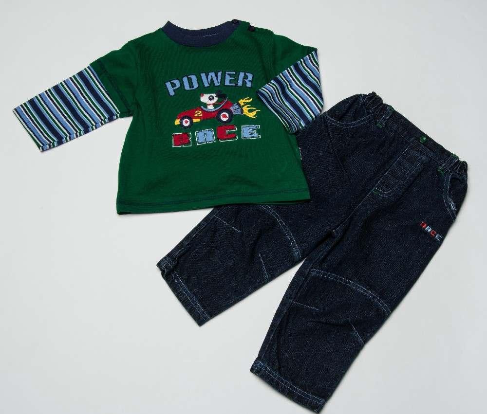 Baby Boys Top Jeans Set Power Race