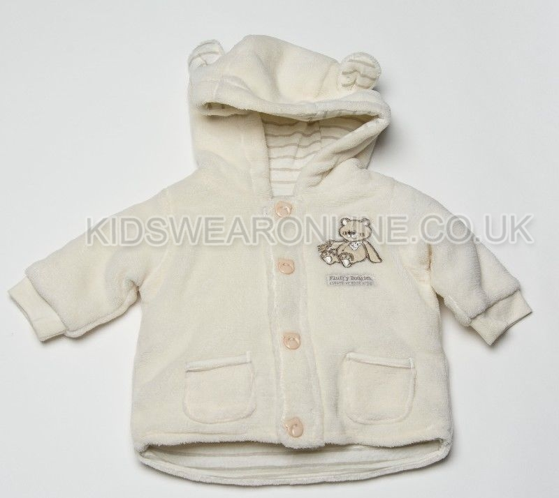 Baby Jacket With Hood Fluffy Buddies