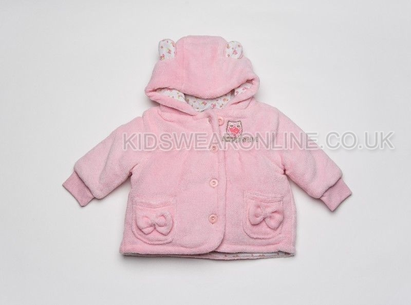 Baby Jacket With Hood Owl