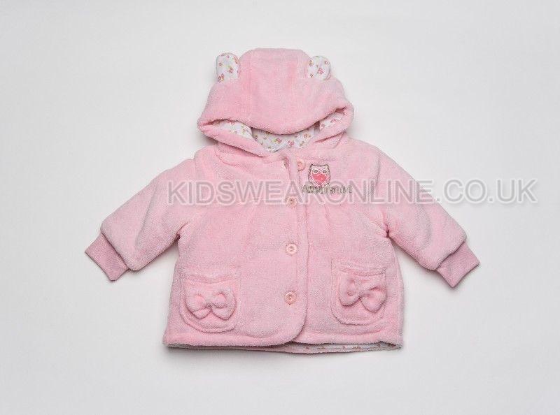 Baby Jacket With Hood Owl