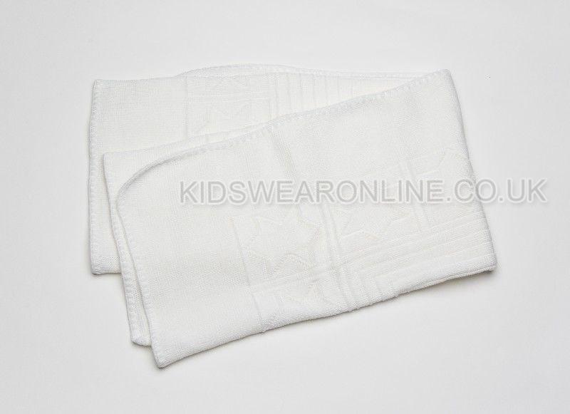 Baby Acrylic Patterned Shawl 0414