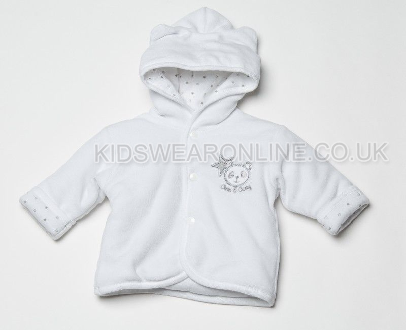 Babys First Jacket Cute And Cosy White