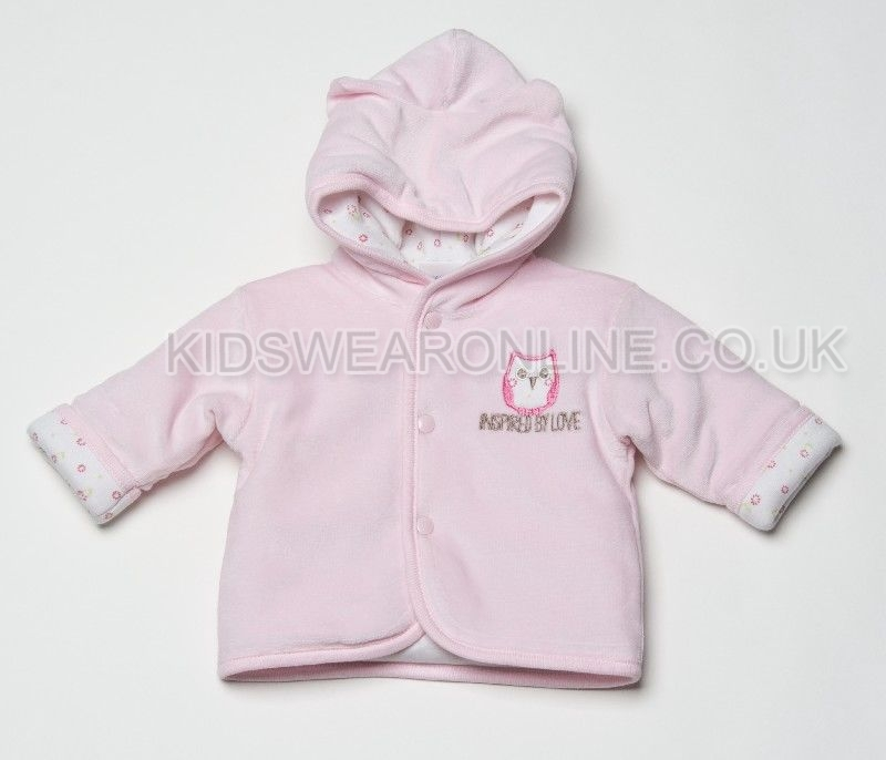 Babys First Jacket Inspired By Love Baby Owl