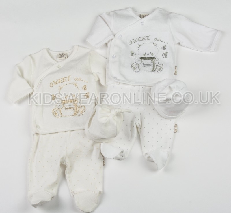 Baby Long Sleeve Top And Trouser With Cap