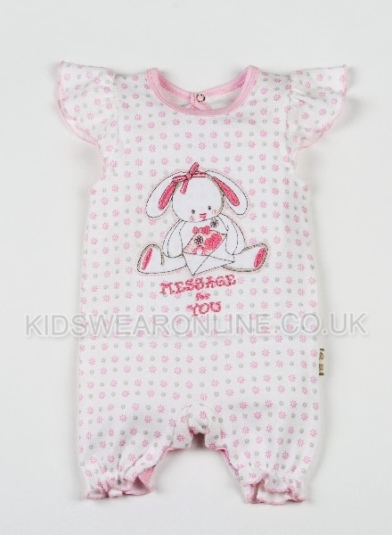 Baby Girls Romper Message To You