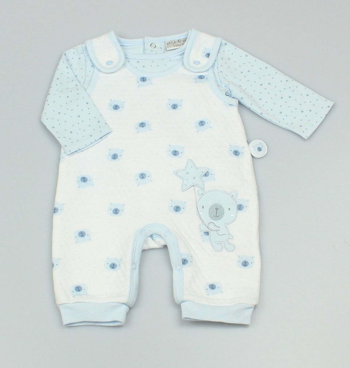2pc Set - Baby Supersoft Dungaree