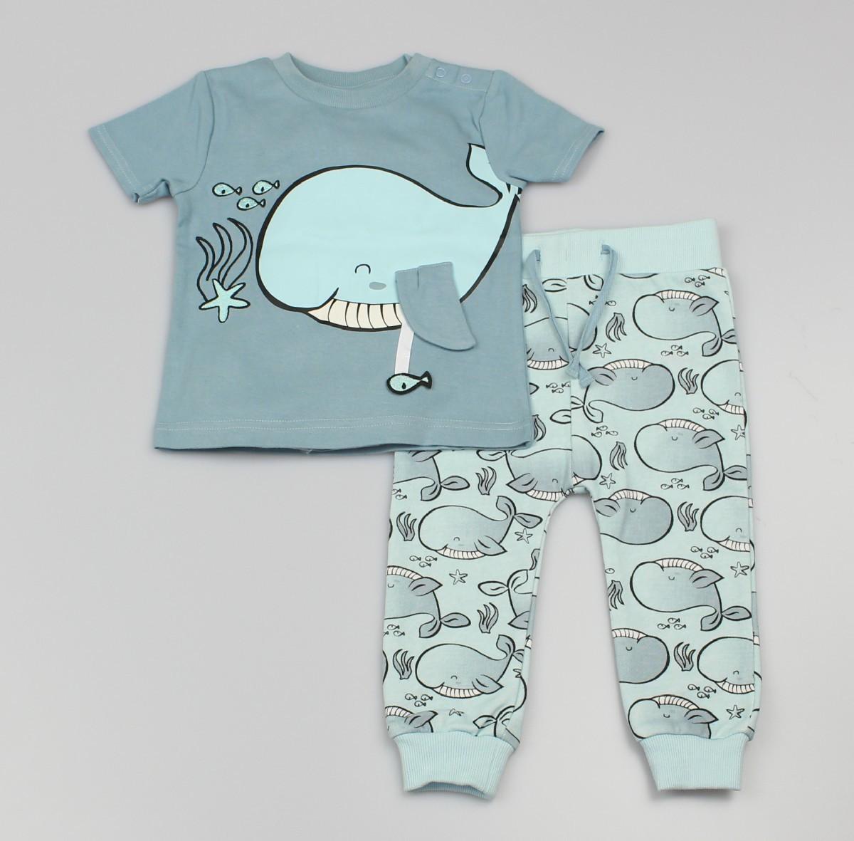 Jogging Set T-Shirt + Jogger Whale