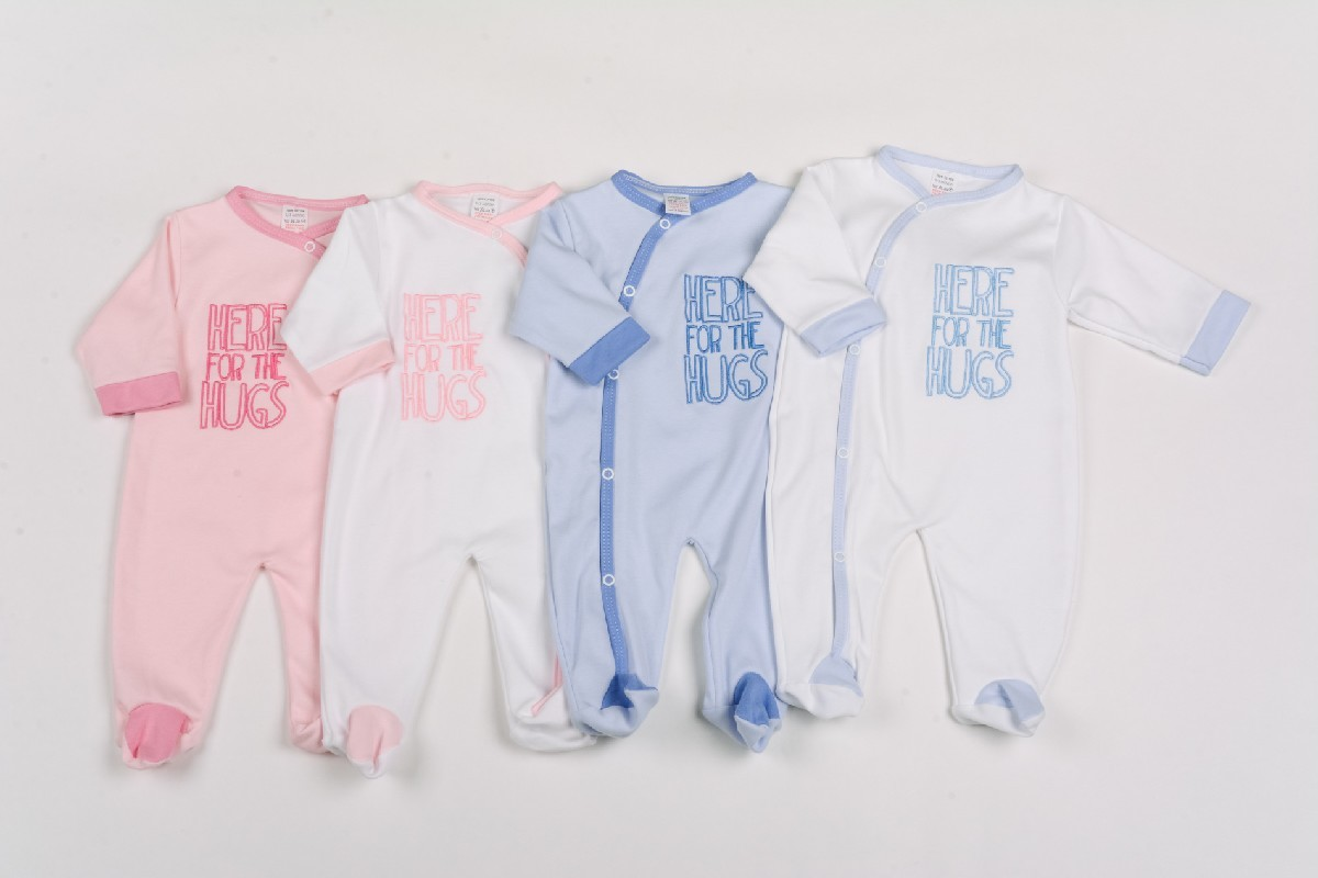 Interlock Sleepsuit Here For Hugs
