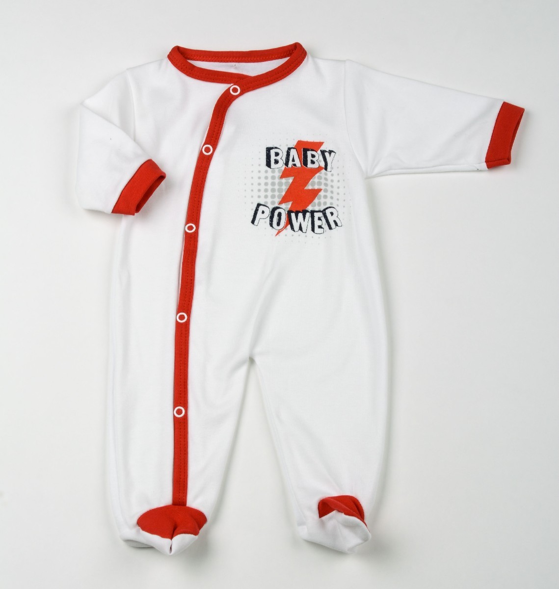 Interlock Sleepsuit Baby Power